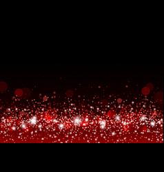 Christmas background concept design of red gitter vector
