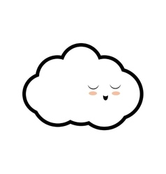 Cloud weather sky season icon graphic vector