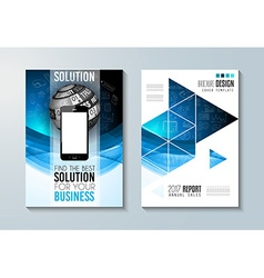 Cover for Business vector image