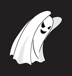 ghost cartoon character vector image