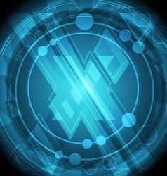 modern cross symbol background vector image vector image
