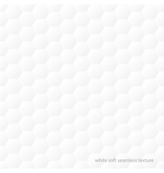 White soft texture - seamless vector image vector image