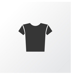 Shirt icon symbol premium quality isolated casual vector