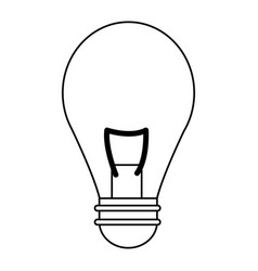 Bulb light illumination idea creativity vector
