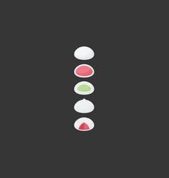 mochi flat icon vector image vector image