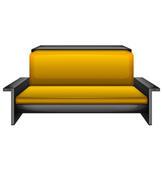 An elegant sofa vector