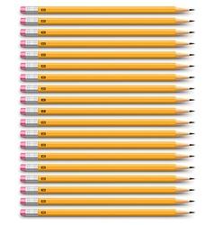 Pencils set vector