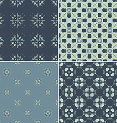 Navy pattern bundle vector