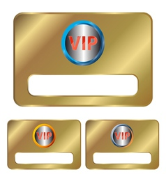 Vip cards vector
