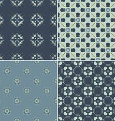 Navy pattern bundle vector