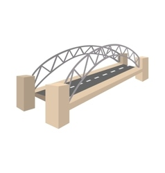 Sydney harbour bridge icon cartoon style vector