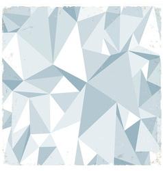 Light retro geometric background vector image