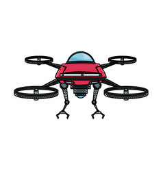 Drone fly gadget technology remote propeller vector