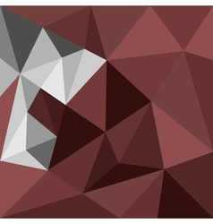 Dark brown triangle background or pattern vector