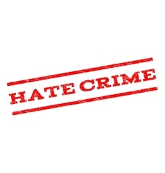Hate crime watermark stamp vector