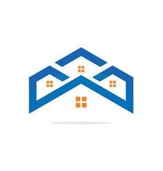 House realty construction logo image vector