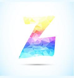 letter z logo icon vector image
