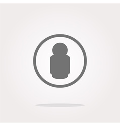 people silhouette web icon app button Web vector image