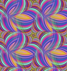 Repeating fractal pattern vector