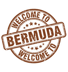 Welcome to bermuda vector