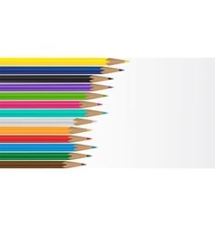 Pencil background vector
