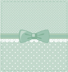 blue-polka-dots vector image