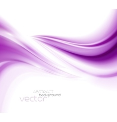 Beautiful purple satin drapery background vector