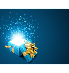 Elegant present background vector