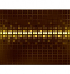 Squares line background vector