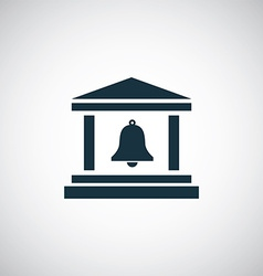 campanile icon vector image vector image