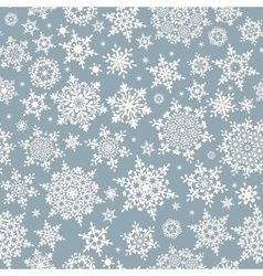 Different geometric snowflakes EPS 10 vector image vector image
