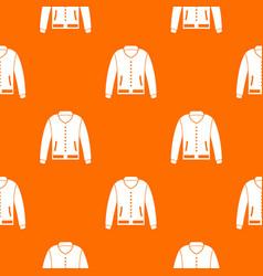 jacket pattern seamless vector image