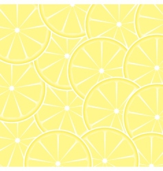 Lemon fruit abstract background vector