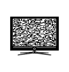 Tv simple icon vector