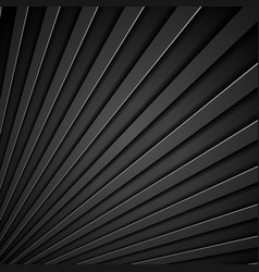 Abstract tech black stripes concept background vector