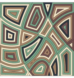African motif background design Abstract vector image vector image