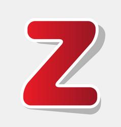 letter z sign design template element new vector image vector image