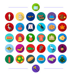 Travel sport architecture and other web icon in vector