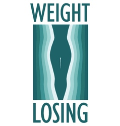 weight loss vector image
