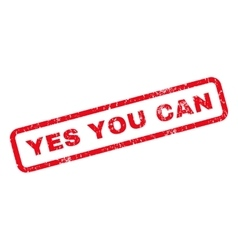 Yes you can rubber stamp vector
