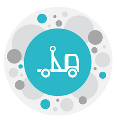 Of structure symbol on pickup vector