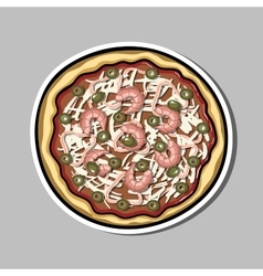 Pizzasticker2 vector
