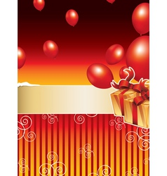Party Background vector image