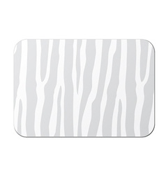 Card with zebra pattern vector