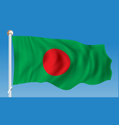 Flag of bangladesh vector