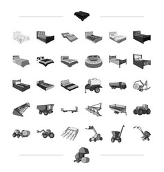Furniture business trade and other web icon in vector