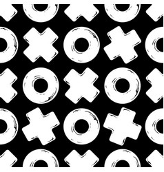 texture tic tac toe vector image vector image