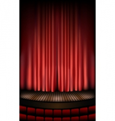 Theater stage vector