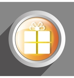 Gift icon symbol design vector