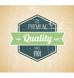 Old dark retro vintage grunge label vector